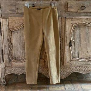 Faux Suede pants size large